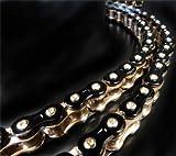 EK Motor Sport ''EK Chain 530 Z 3D Premium Chain - 160 Links - Black/Gold