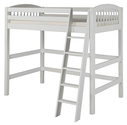 Camaflexi Eco-Friendly High Loft Bed in White Finish ()