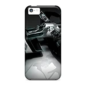 Excellent Iphone 5c Case Tpu Cover Back Skin Protector Tron Legacy Light Car