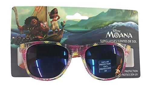 Amazon.com: Disney Moana de sol las niñas anteojos de sol ...