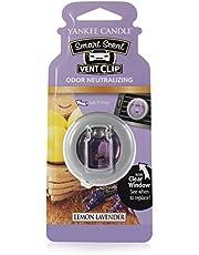 YANKEE CANDLE 1507975 Lemon Lavender Smart Scent Vent Clip Purple