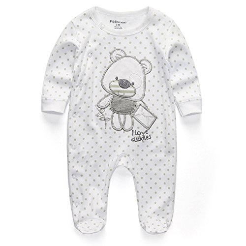 rfl1021-kiddiezoom-unisex-baby-sleepwear-jumpsuits-bear-pattern-rompers-with-long-sleeve-white0-3mon