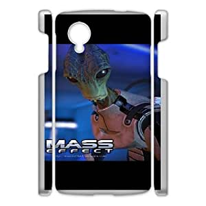 Mass Effect For Google Nexus 5 Cases Cover Cell Phone Case STR661509