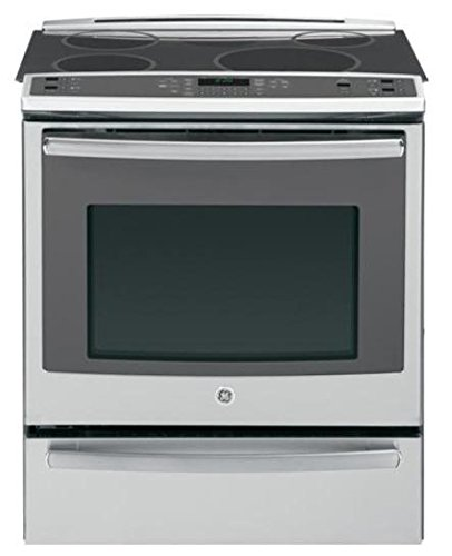 GE Profile PHS920SFSS 30″ Profile Series Slide-in Electric Range with Smoothtop Cooktop, in Stainless Steel