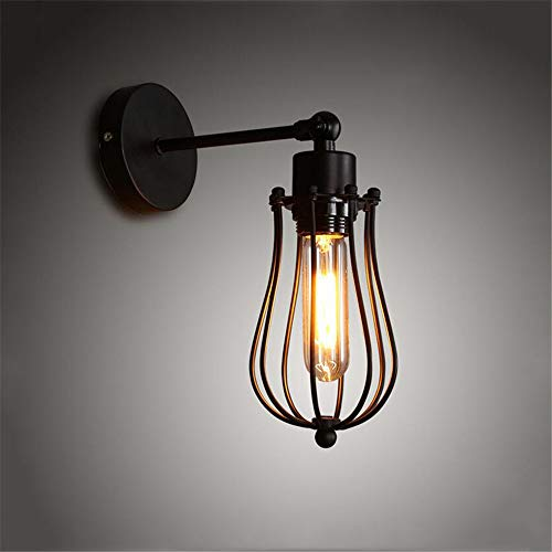 Amerciano retro loft lámparas vintage restaurante mesilla de noche ...