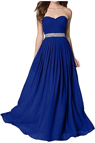Ballkleider Festlichkleider Royal Abendkleider Elegant mia Blau La Braut Traegerlos Jugendweihe Partykleider Pailletten Lawender Kleider Lang UTYW0Oq