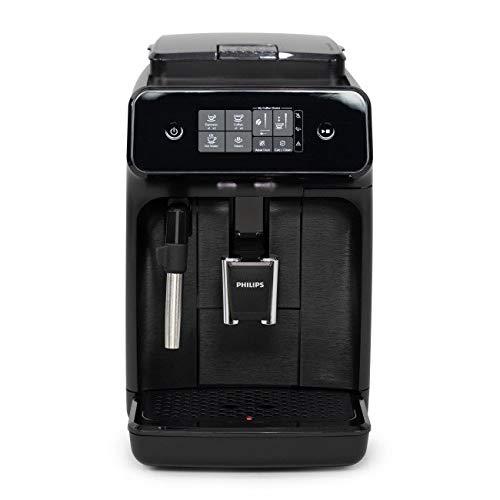 Philips Carina 1200-Series Compact Super-Automatic All-In-One Programmable Espresso Machine w/Panarello Steam Wand