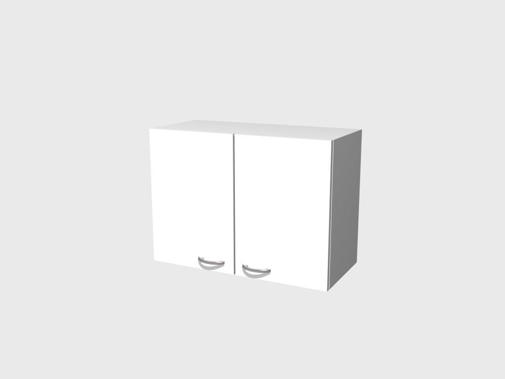 Hängeschrank 80 cm Weiß - Witus