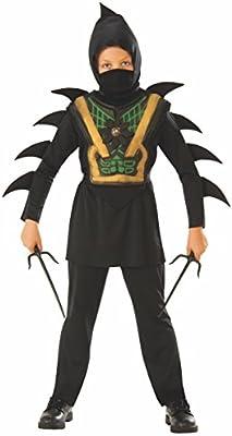 Rubies - Disfraz de ninja mortal para niño, infantil 5-6 años ...