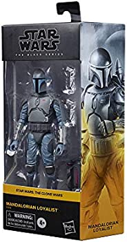 Star Wars The Black Series Guerras Clônicas, Figura de 15 cm Mandalorian Loyalist - F0015 - Hasbro