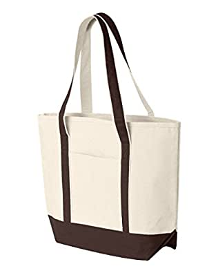 Amazon.com: HYP hy801 16 oz. Playa bolsa Bag, Marrón, talla ...