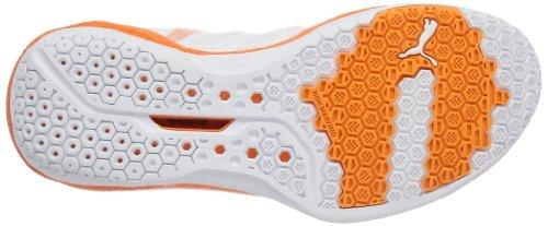 Puma Vindicate 3.2 - Zapatillas deportivas para interior de material sintético hombre blanco - Weiß (white-vibrant orange 01)