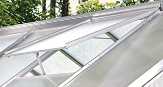 Alu-Dachfenster für Venus, Merkur, Uranus, Alu eloxiert, ohne Glas