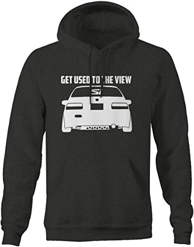 Lifestyle Graphix Honda Civic Lowered SI Get used The The View Racing Sweatshirt - XLarge