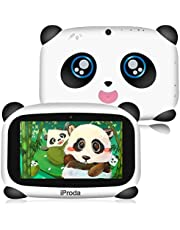 Panda Kids Tablet, 2GB RAM & 16GB ROM, 7 inch HD Display Android 9.0, 4000Amh Panda Toddler Tablet, Parental Controls, Educational Games, Great Gift for Kids