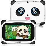 Panda Kids Tablet, 2GB RAM & 16GB ROM, 7 inch HD Display Android 9.0, 4000Amh Panda Toddler Tablet, Parental Controls, Educat