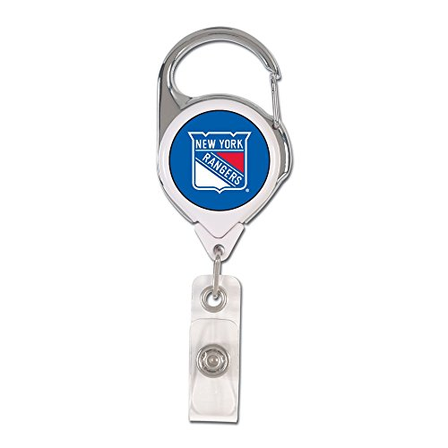WinCraft NHL New York Rangers 47545011 Retractable 2S Prem Badge -