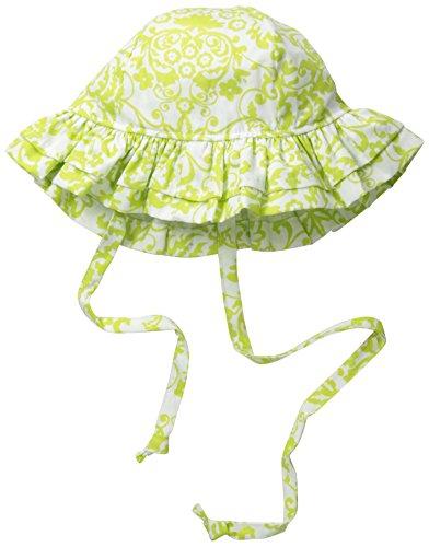 Flap Happy Baby Girls' UPF 50+ Floppy Hat, Bella Brocade, ()