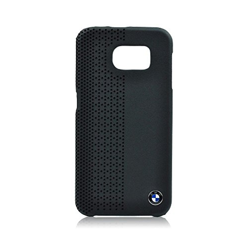 (CG Mobile Galaxy S6 BMW Signature Collection Genuine Leather Hard Case Perforated BLACK - BMHCS6PEB )