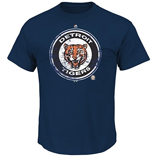 "Detroit Tigers Majestic MLB ""League Supreme"" Cooperstown Men's T-Shirt"