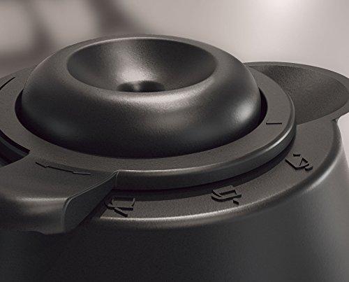 Philips HD7546/20 Gaia Filter-Kaffeemaschine mit Thermo-Kanne, schwarz/metall 4