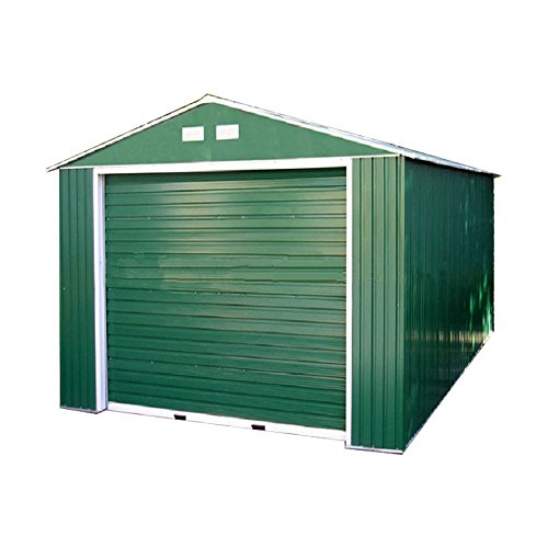 Weizhengheng CG06 light Steel Metal Car Garage with Electric Rolling Door by Weizhengheng (Image #7)