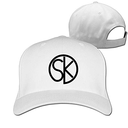 Piece 12 Eyelets (Xyou Classic Cotton Hat Adjustable Plain Cap, SK Mouthpieces Plain Baseball Cap Adjustable Size Curved Visor Hat)