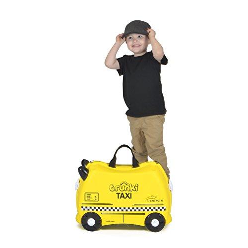 Trunki Taxi Tony Valigia per bambini, 46 cm, Giallo