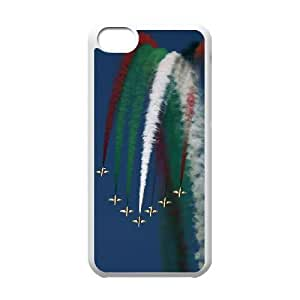 iPhone 5c Cell Phone Case Covers White Air Show sdsq