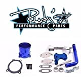 Rudy's EGR & Throttle Valve Delete For 2010-2012 Dodge 6.7L Cummins Diesel