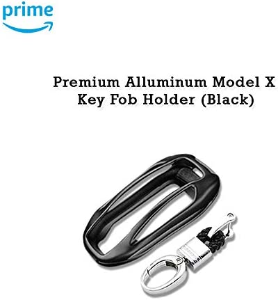 [해외]CoolKo Premium Aluminum Metal Alloy Shell Holder Case CompatibleModel X Car Key Fob [1 Piece - Black] / CoolKo Premium Aluminum Metal Alloy Shell Holder Case CompatibleModel X Car Key Fob [1 Piece - Black]