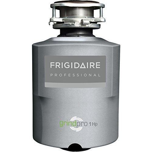 Frigidaire FPDI103DMS Professional Series GrindPro 1 HP Direct Wired Continuous Feed Waste Disposer, Silver by Frigidaire