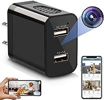 Spy Camera Wireless Hidden WiFi Camera with Remote View, 2020 Updated Version 1080P HD Nanny Cam USB Mini Spy Camera...