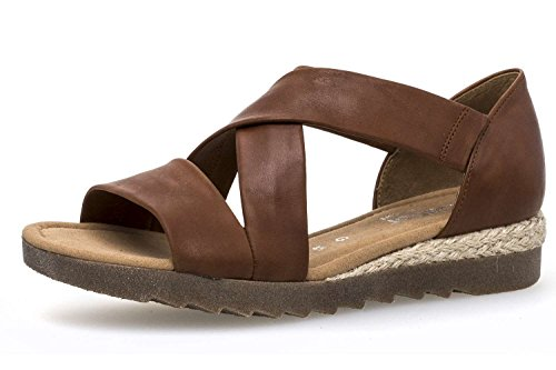 Sandali 711 62 Donna Marrone Shoes Gabor OwfaTn