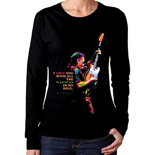 Bruce Springsteen Halloween (Jneater Bruce Springsteen Casual Long Sleeve T-Shirt Black)