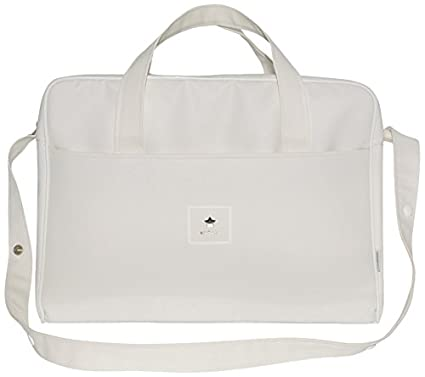 Cambrass Basic - Bolso maternal, 20 x 44 x 33 cm, color beige