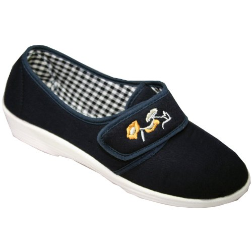 Mirak Blu Donna Canvas Estive Navy in Boost Scarpe rSxarY