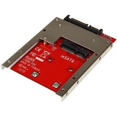 Startech StarTech SAT32MSAT257 mSATA SSD To 2.5in SATA Adapter Converter