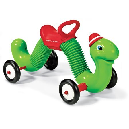 Radio Flyer Inchworm Ride-on 34.00 x 14.75 x 15.50 Inches