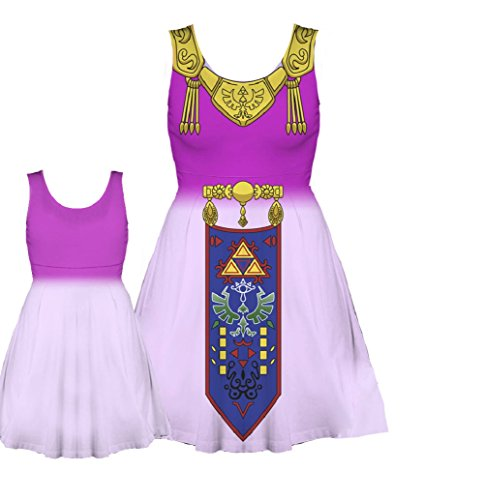 Nintendo The Legend of Zelda Costume Tank Dress (Juniors Large)