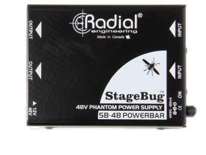 (Radial SB-48 Dual Phantom Power Supply)