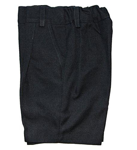 41kmJ%2BsA7pL Pantalón corto gris uniforme escolar Ideal para el uniforme de colegio 65% Poliéster, 35% Viscosa