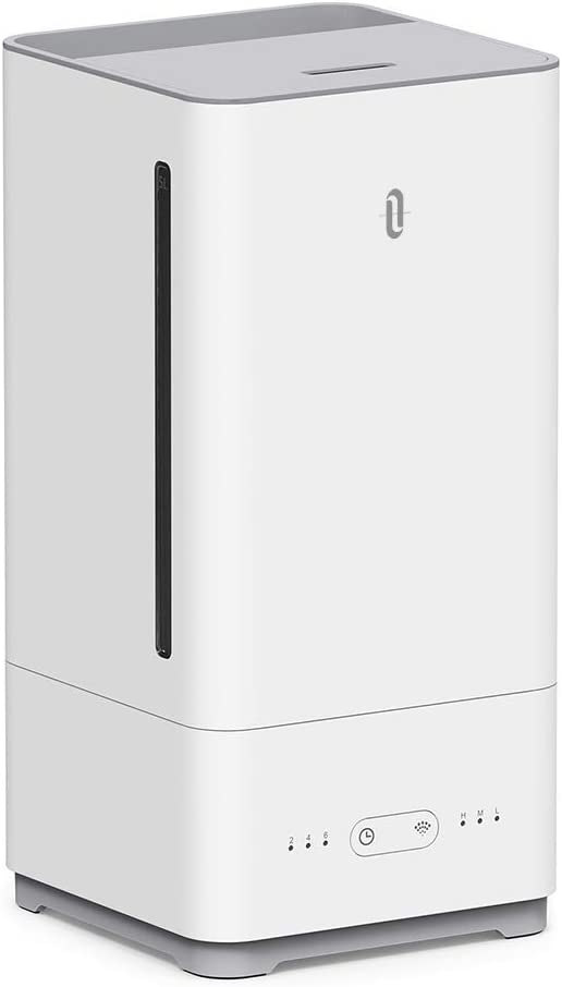 Compatible with Alexa Timer Waterless Auto Shut-Off Baby/'s Rooms Ultrasonic Humidifiers for Bedroom 4L // 1.06 Gallon, US 110V Adjustable Mist Levels TaoTronics Cool Mist Humidifier with Filter