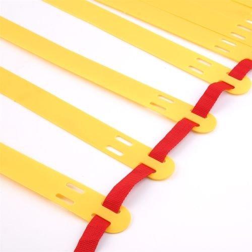 BatterElec(TM) 8-rung Agility Ladder for Soccer Speed Football Fitness Feet Training Durable