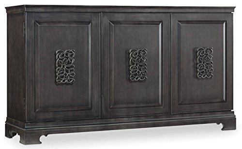 Hooker Furniture 638-85056 Melange Brockton Credenza, Charcoal Gray by Hooker Furniture