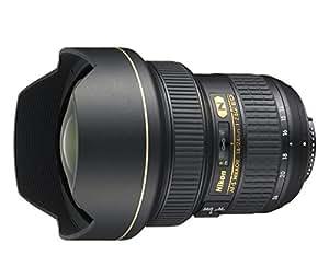Nikon Nikkor - Objetivo para cámara AF-S 14-24mm f/2.8G ED (14/11, 9.8 cm, 13.15 cm), color negro