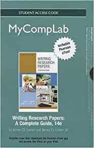writing research papers james lester 14th edition Writing research papers has 146 ratings and 5 reviews writing research papers: a complete guide by james d lester and now i'm using the 14th edition.