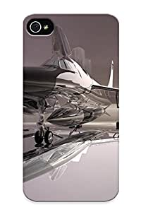 New Premium Flip Case Cover Mr X Wild Airplane Skin Case For Iphone 4/4s