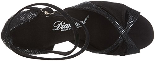 Diamant Damen Tanzschuhe 141-077-084, Zapatos de Danza Moderna/Jazz para Mujer Negro (Ivory 08)