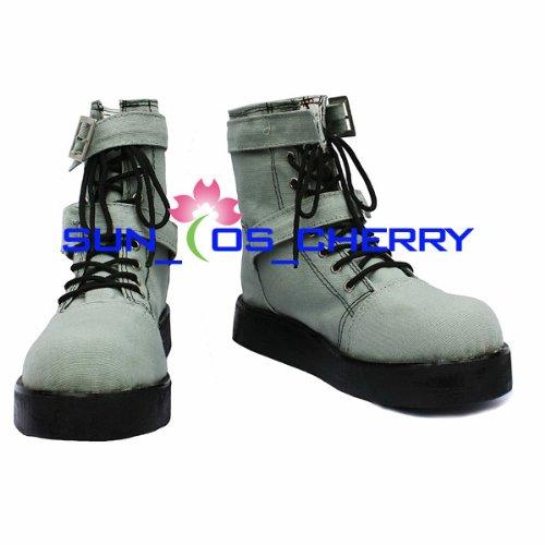 【サイズ選択可】コスプレ靴 ブーツ K-200 ファイナルファンタジーXIII ホープ 男性25.5CM B01J7I56AY 男性25.5CM  男性25.5CM